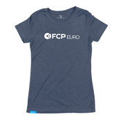 Logo Women's T-Shirt (Midnight Navy) Large - FCP Euro 577173