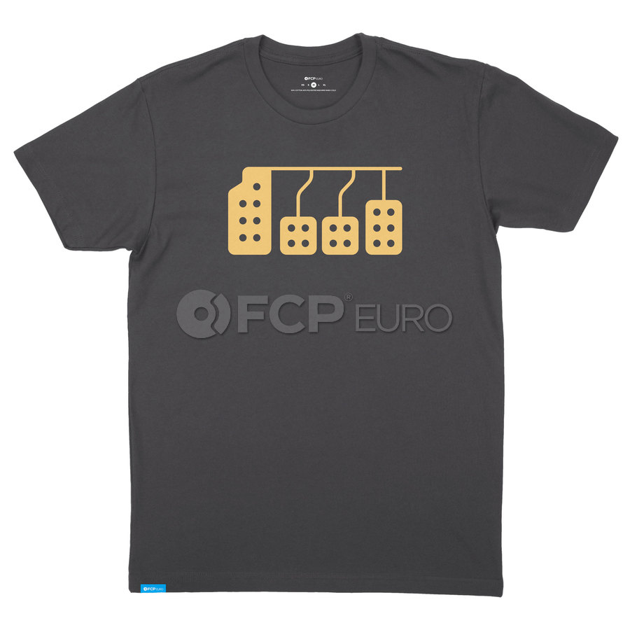 Pedals T-Shirt (Black) Extra Large - FCP Euro 577200