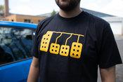 Pedals T-Shirt (Black) 2XL - FCP Euro 577201