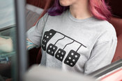 Pedals T-Shirt (HeatherGray) Large - FCP Euro 577206