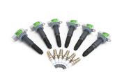 Porsche Ignition Coil Kit - Beru/Bosch 99917015190KT