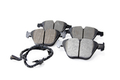 BMW HPS 5.0 Brake Pad Set - Hawk HB551B.748
