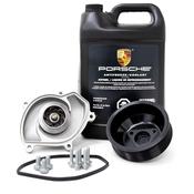 Porsche Engine Water Pump Kit - Geba/Genuine 94810603301KT