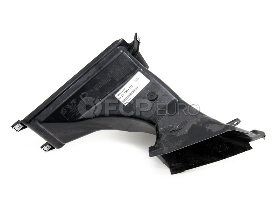 BMW Front Right Brake Air Duct (M) - Genuine BMW 51747891384