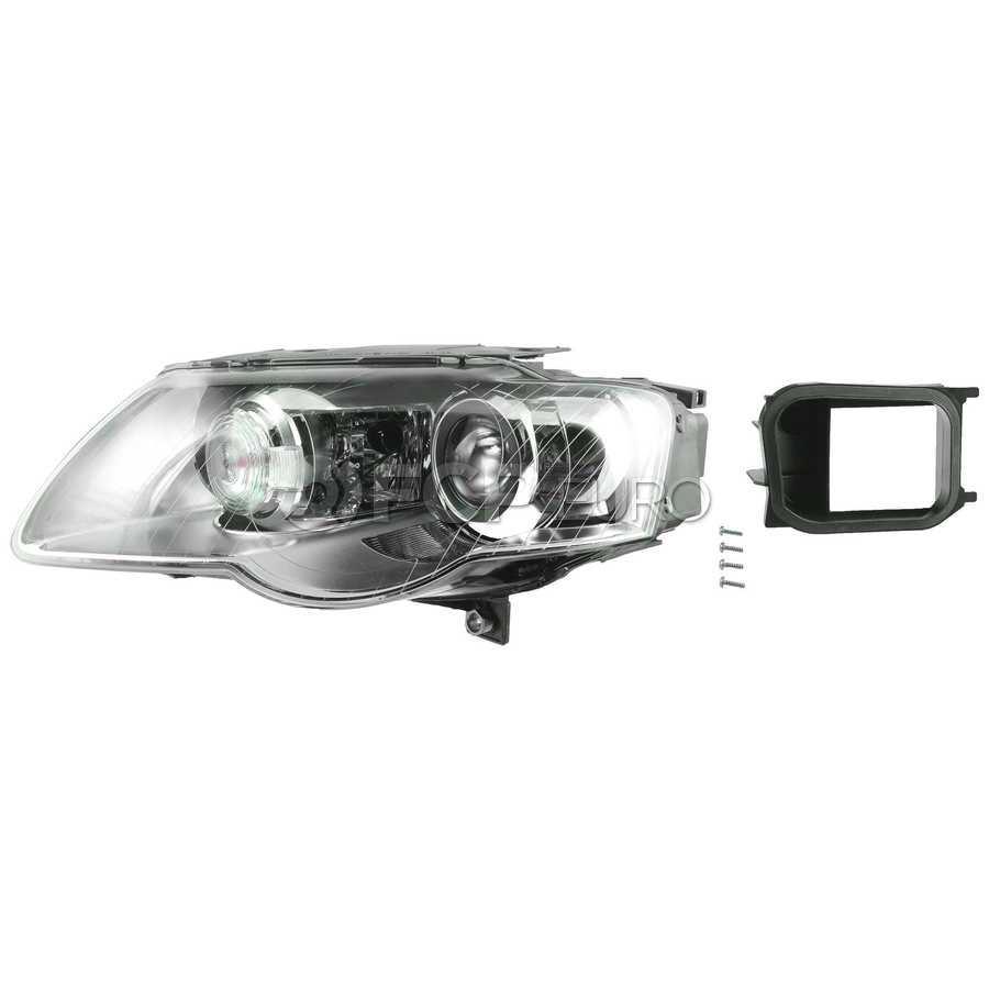 VW Headlight Assembly - Valeo 3C0941753J
