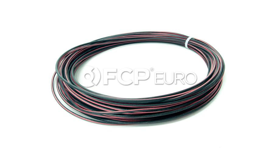 BMW Cable Black-Red (25 Meters) - Genuine BMW 61121391699