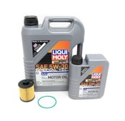 Saab Engine Oil Change Kit - Liqui Moly/Hengst E630H02D103KT