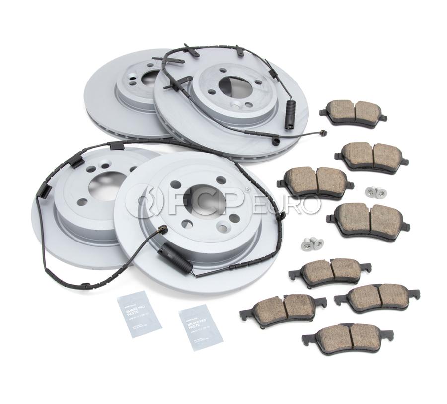 Mini Brake Kit - Zimmermann/Akebono 34116768933KTFR