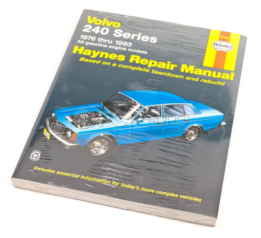 Volvo Haynes Repair Manual - Haynes 97020