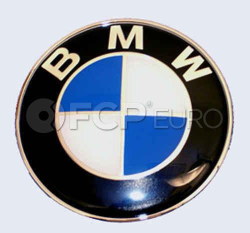 BMW Trunk Roundel Emblem - Genuine BMW 51147721222