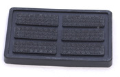 Volvo Brake Pedal Pad - Genuine Volvo 1272066