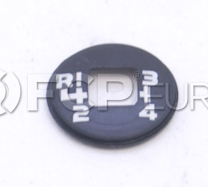 Volvo Manual Transmission Shift Knob Cap - Pro Parts 1232682