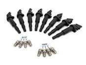 BMW Ignition Service Kit (E60 E63 E65 E70) - Bosch 12138647689KT6