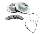 Porsche Brake Kit - Zimmermann/Textar 538460KT