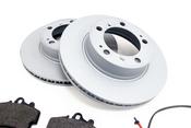 Porsche Brake Kit - Zimmermann/Textar 538461