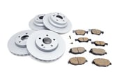 Mercedes Brake Kit - Akebono 0044208720