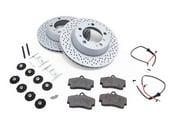 Porsche Brake Kit - Zimmermann/Textar 986BRKT