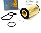 Mercedes Oil Filter Housing Gasket Kit - Genuine Mercedes 1561840080