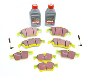 Mercedes Brake Pad Upgrade Kit - EBC Yellowstuff 007420