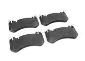 Mercedes Brake Pad Set - TRW 0074205920