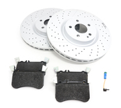 Mercedes Brake Kit - Genuine Mercedes 1764210212