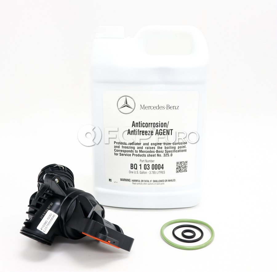 Mercedes-Benz Engine Coolant Thermostat - Borg Warner 2762000515