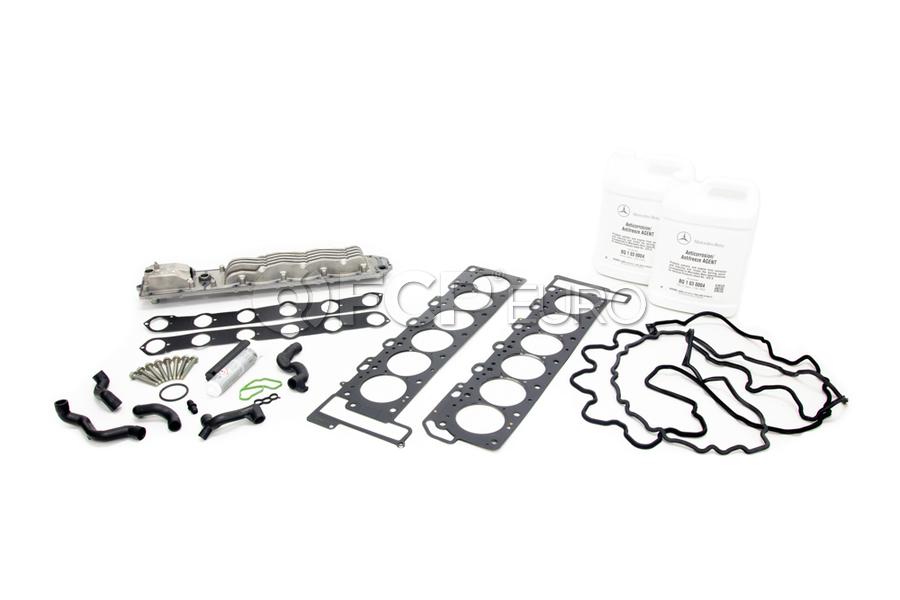 Mercedes Oil Cooler Gasket Kit - Genuine Mercedes 1371880501FULL