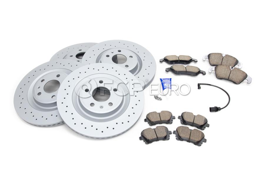 Audi VW Brake Kit - Zimmermann/Akebono 4G0615301KT4