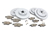 Mercedes Brake Kit - Akebono 1644230512