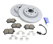 Audi Brake Kit - Zimmermann/Akebono 100333320KT