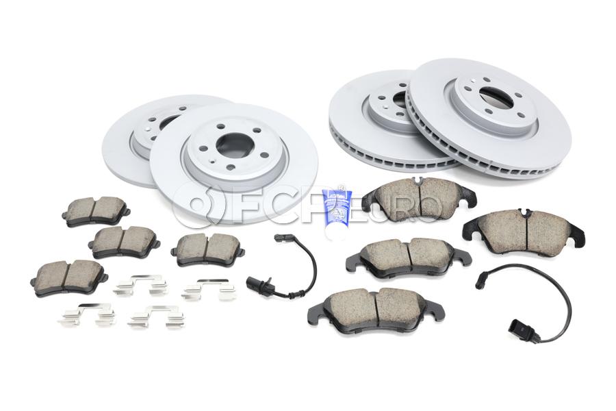 Audi VW Brake Kit - Zimmermann/Akebono 100335520KT2