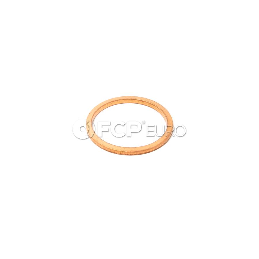 Audi Engine Oil Drain Plug Gasket Lower - Genuine VW Audi N0438541