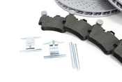 Porsche Brake Kit - Zimmermann/Textar 997BRKT14