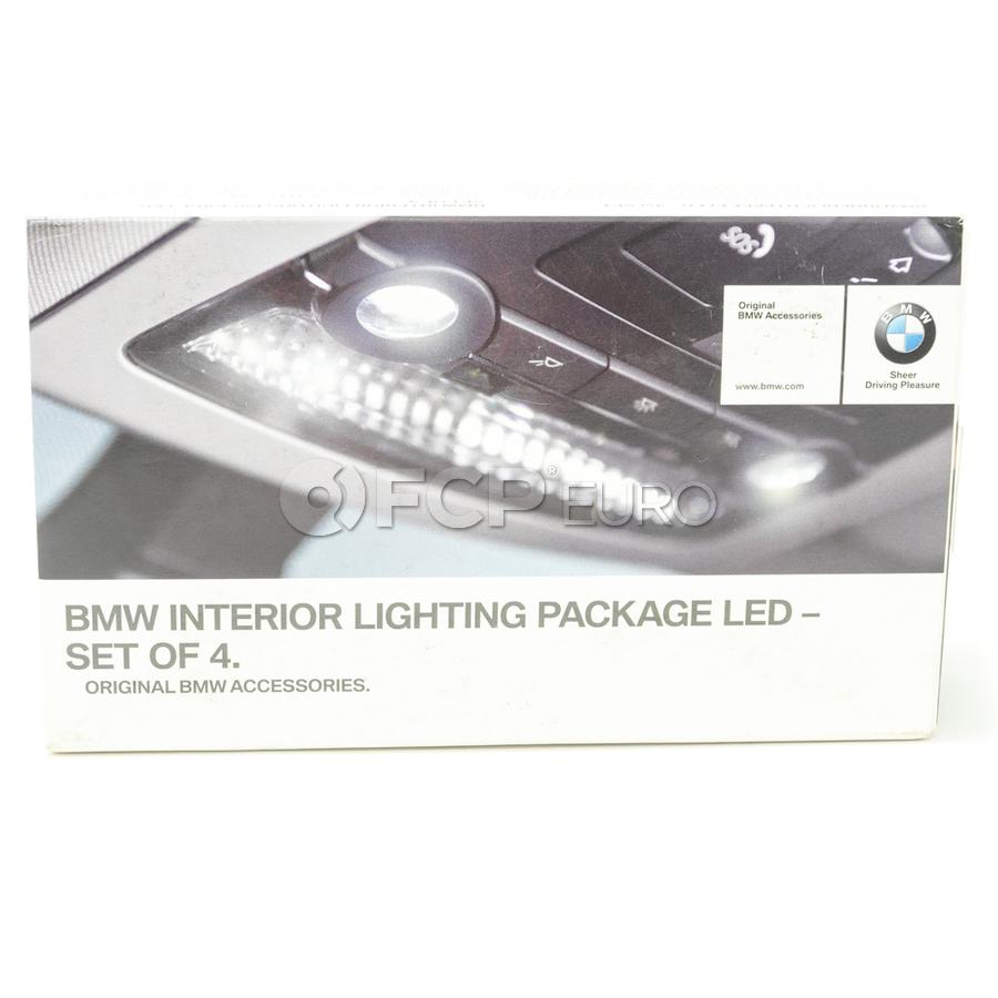 BMW Int. Light Package Led - Set Of 4 (W5W W6W) - Genuine BMW 63122212787