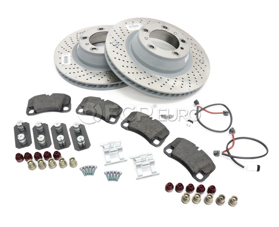 Porsche Brake Kit - Zimmermann/Textar 997BRKT16