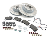 Porsche Brake Kit - Zimmermann/Textar 997BRKT16