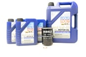 Porsche Engine Oil Change Kit (0W-40) - Liqui Moly/Genuine 991GT3OILKT3