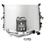 Porsche Radiator Kit - Mahle Behr/Genuine 376719001KT1