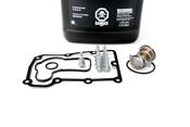 Porsche Engine Coolant Thermostat Kit - Borg Warner 99610612572KT