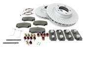 Porsche Brake Kit - Zimmermann/Textar 997BRKT6