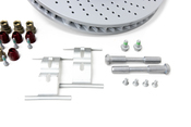 Porsche Brake Kit - Zimmermann/TRW 997BRKT8