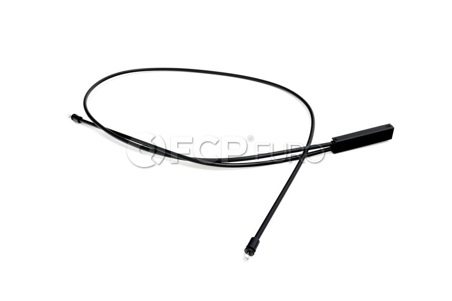 Mini Cooper Hood Release Cable - Genuine Mini 51239801597