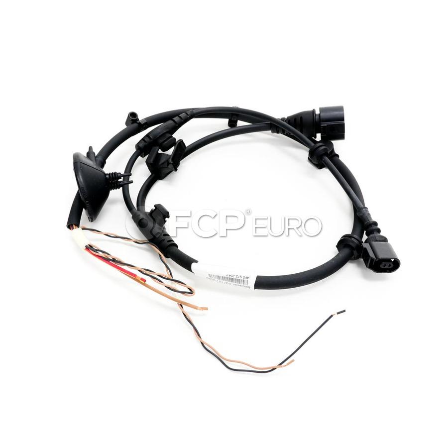 Audi ABS Wheel Speed Sensor Wire Harness - Genuine VW Audi 4F0972254F