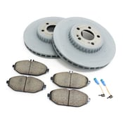 Mercedes Brake Kit - Akebono 0004212712