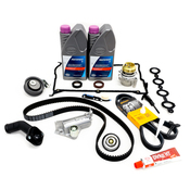Audi VW Timing Belt Kit - Contitech KIT-06B109119AKT19