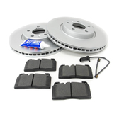 Audi VW Brake Kit - ATE/Textar 8R0615301FKT4
