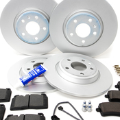 Audi VW Brake Kit - ATE/Textar 8R0615301FKT5