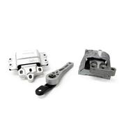 VW Engine Mount Kit - Lemforder KIT-1K0199262ASKT1
