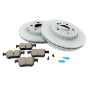 Mercedes Brake Kit - Akebono 0004208200