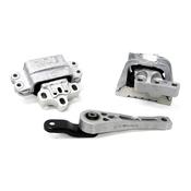 VW Engine Mount Kit -  Corteco KIT-1K0199262MKT2